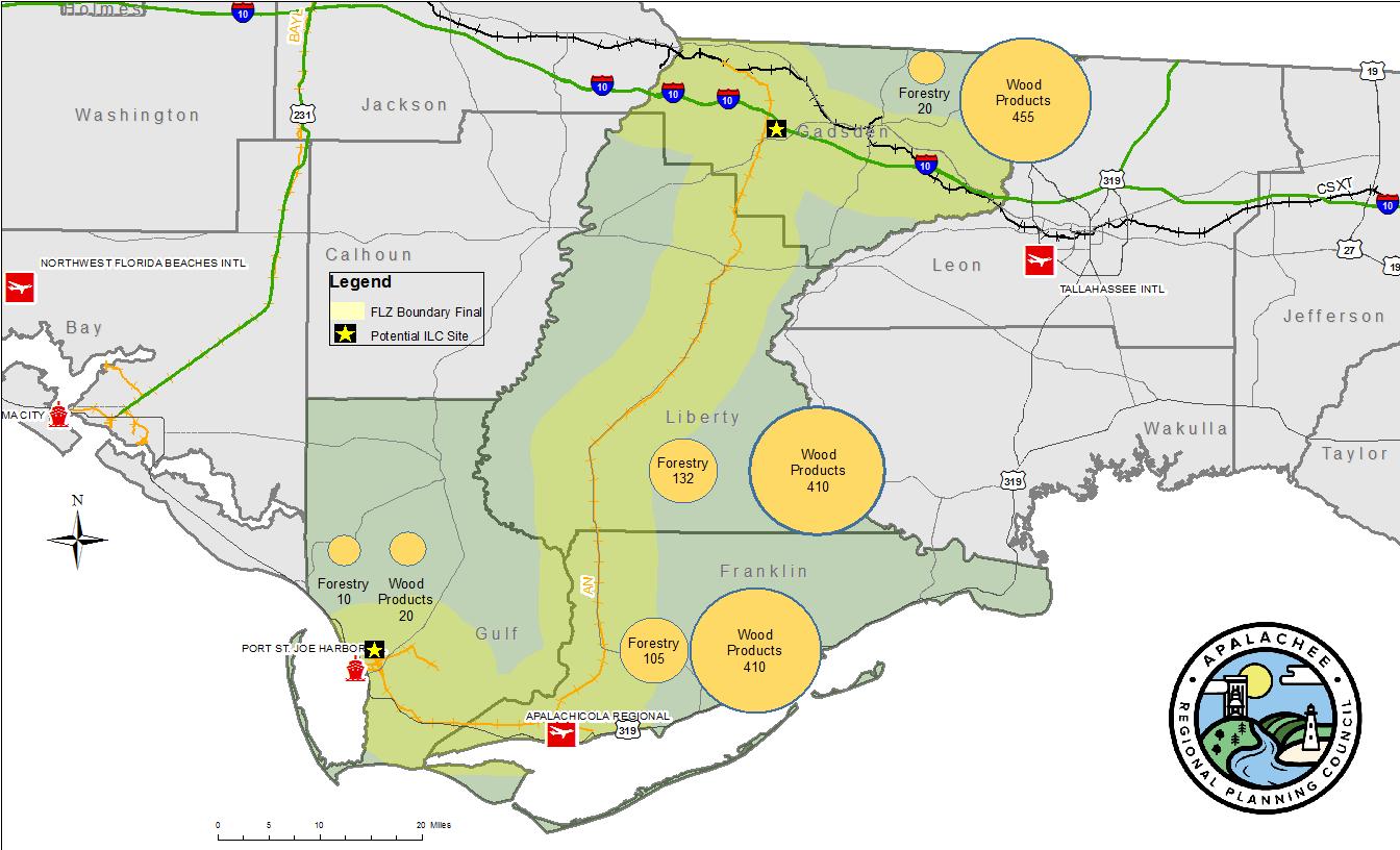 Gulf to Gadsden Freight Logistics Zone Gadsden County Economic D